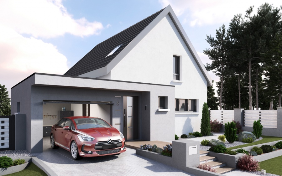 constructeur maisons stephane berger pr sente sa maison optima. Black Bedroom Furniture Sets. Home Design Ideas