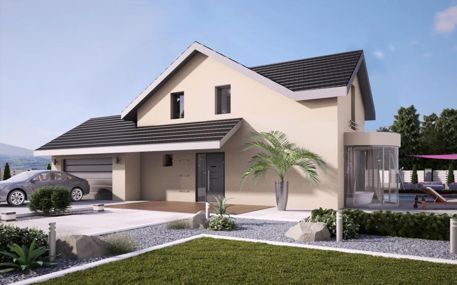constructeur maisons stephane berger pr sente sa maison lumi air. Black Bedroom Furniture Sets. Home Design Ideas