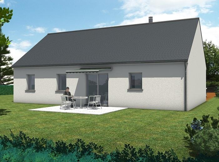 constructeur maisons t va pr sente sa maison kilia nord loire 3 chs. Black Bedroom Furniture Sets. Home Design Ideas