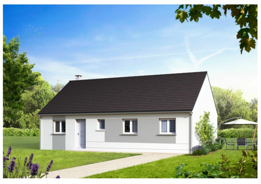 constructeur mikit saint nazaire pr sente sa maison loelie. Black Bedroom Furniture Sets. Home Design Ideas