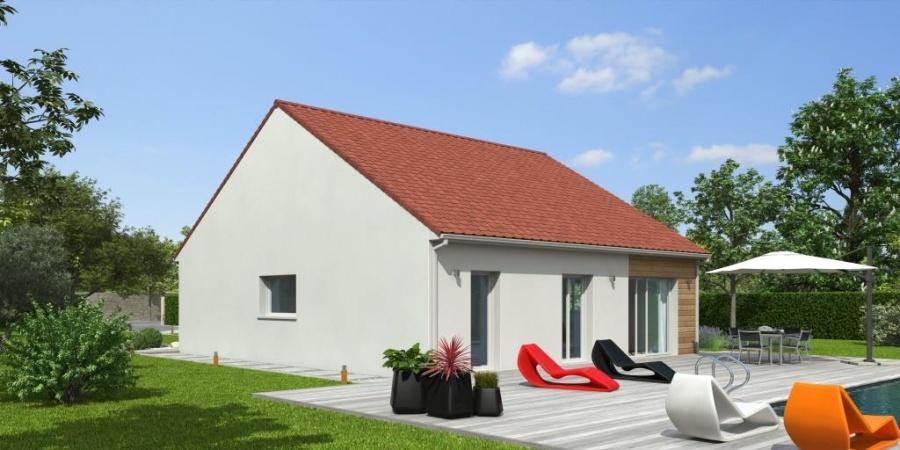 constructeur natilia amiens pr sente sa maison natirena 3 chambres. Black Bedroom Furniture Sets. Home Design Ideas