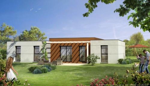 Constructeur Projet Habitat Sarl Maison Individuelles Mikit Presente Sa Maison Modele Fidjie Contemporaine