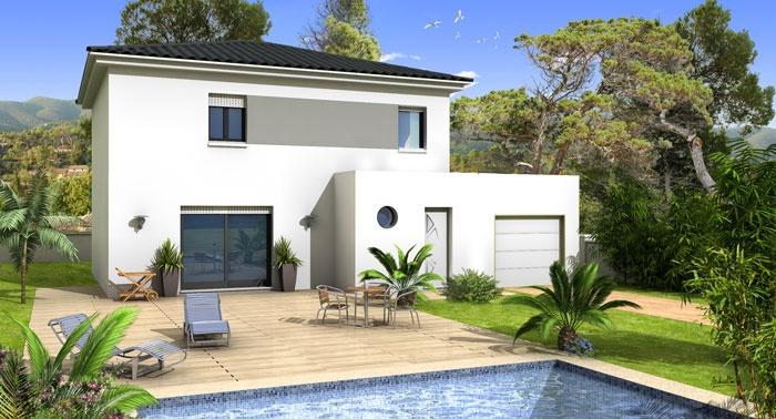 constructeur villas prisme pr sente sa maison villa julia. Black Bedroom Furniture Sets. Home Design Ideas